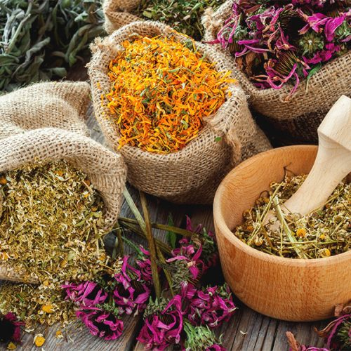 Relaxing Bath Herbs